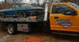 Harta Karun! Mobil Langka Ditemukan di Tumpukan Sampah